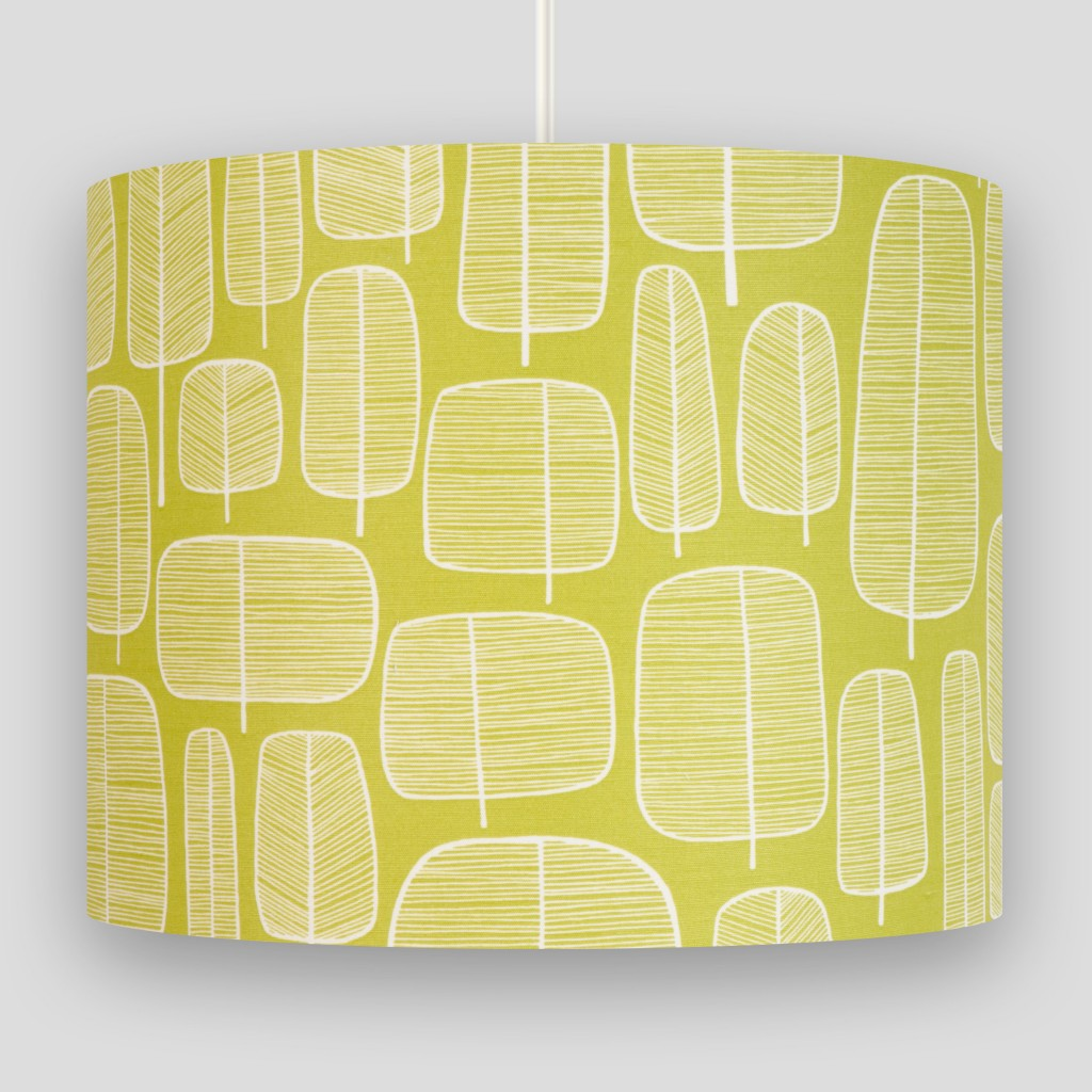 Little Trees Moss Lampshade