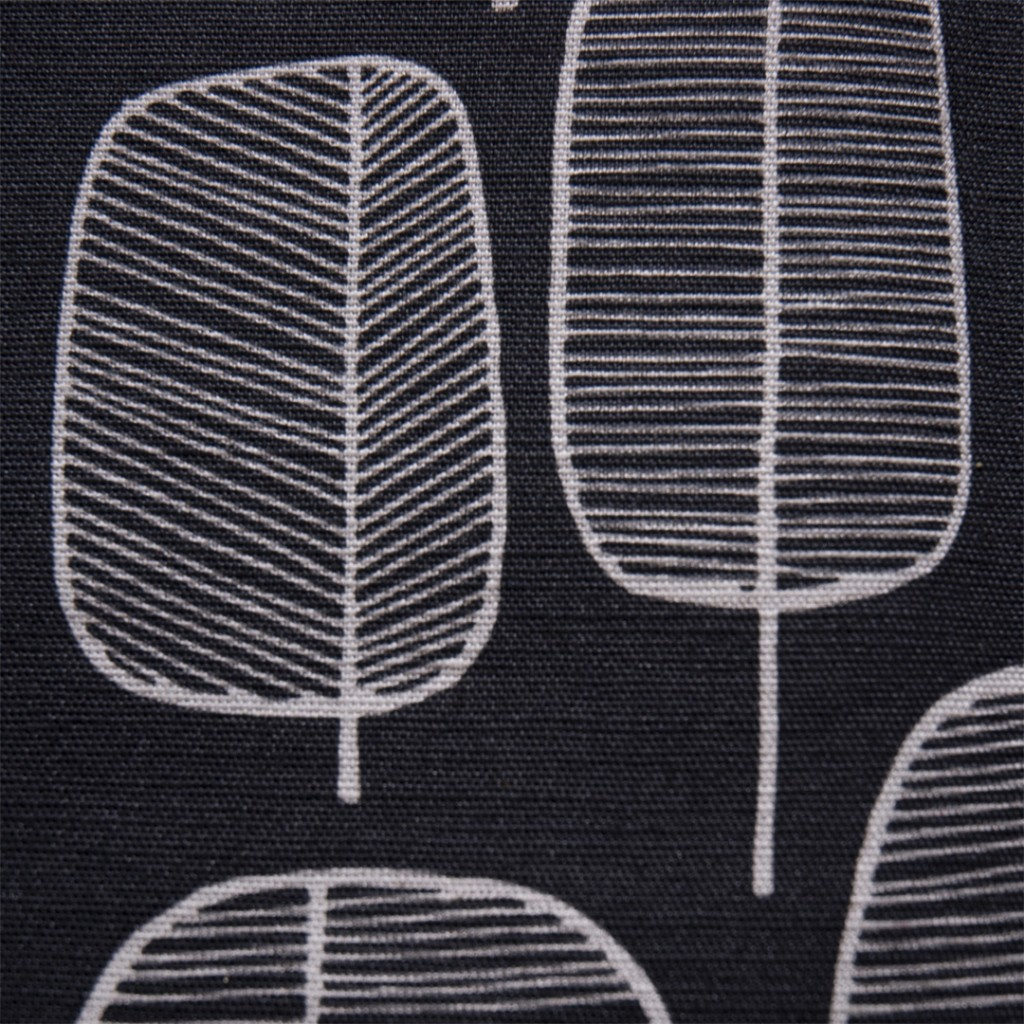 Little Trees Charcoal Fabric