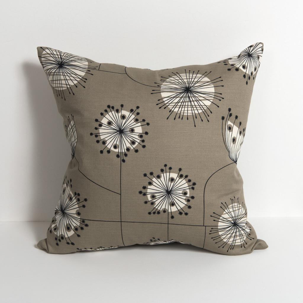 Dandelion Mobile French Grey With White Cushion