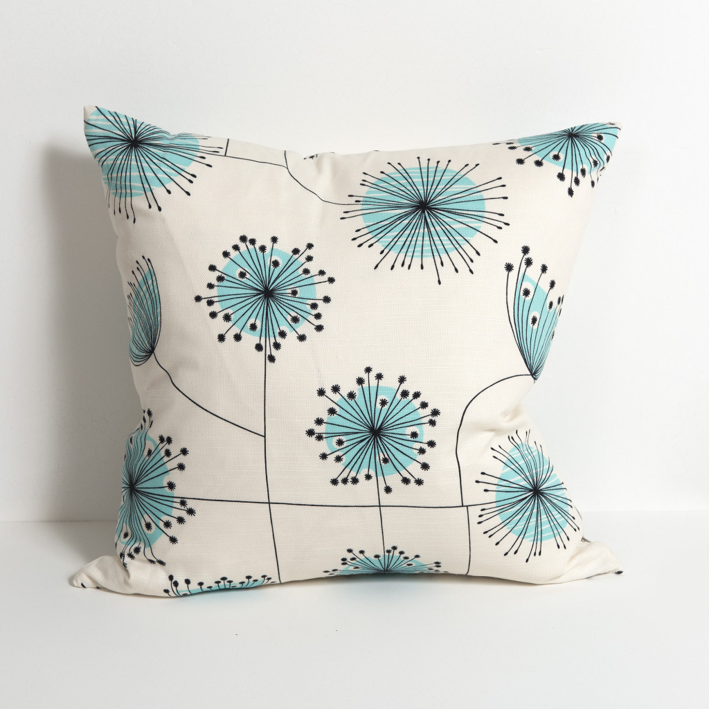 Dandelion Mobile Porcelain With Powder Blue Cushion
