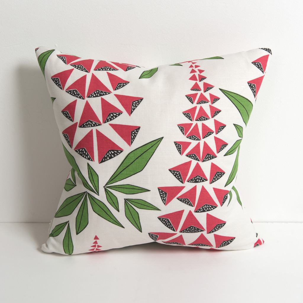 Foxglove Garden Cushion