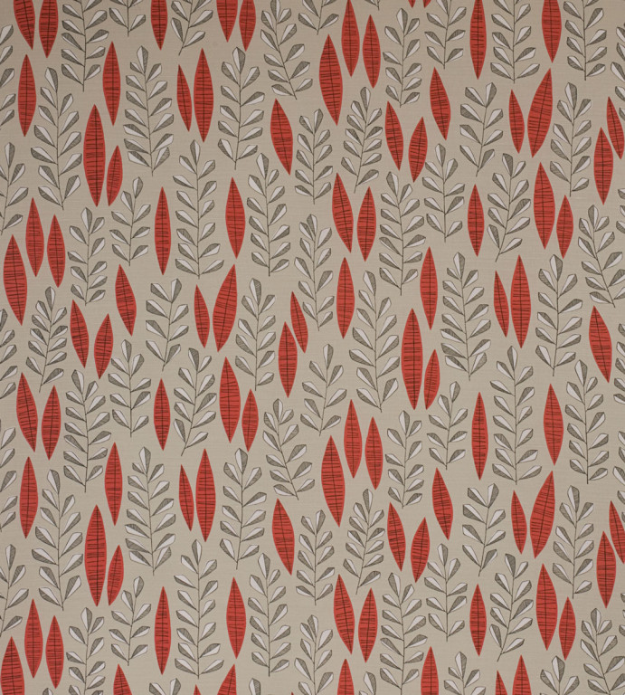 Garden City Putty Rouge Fabric