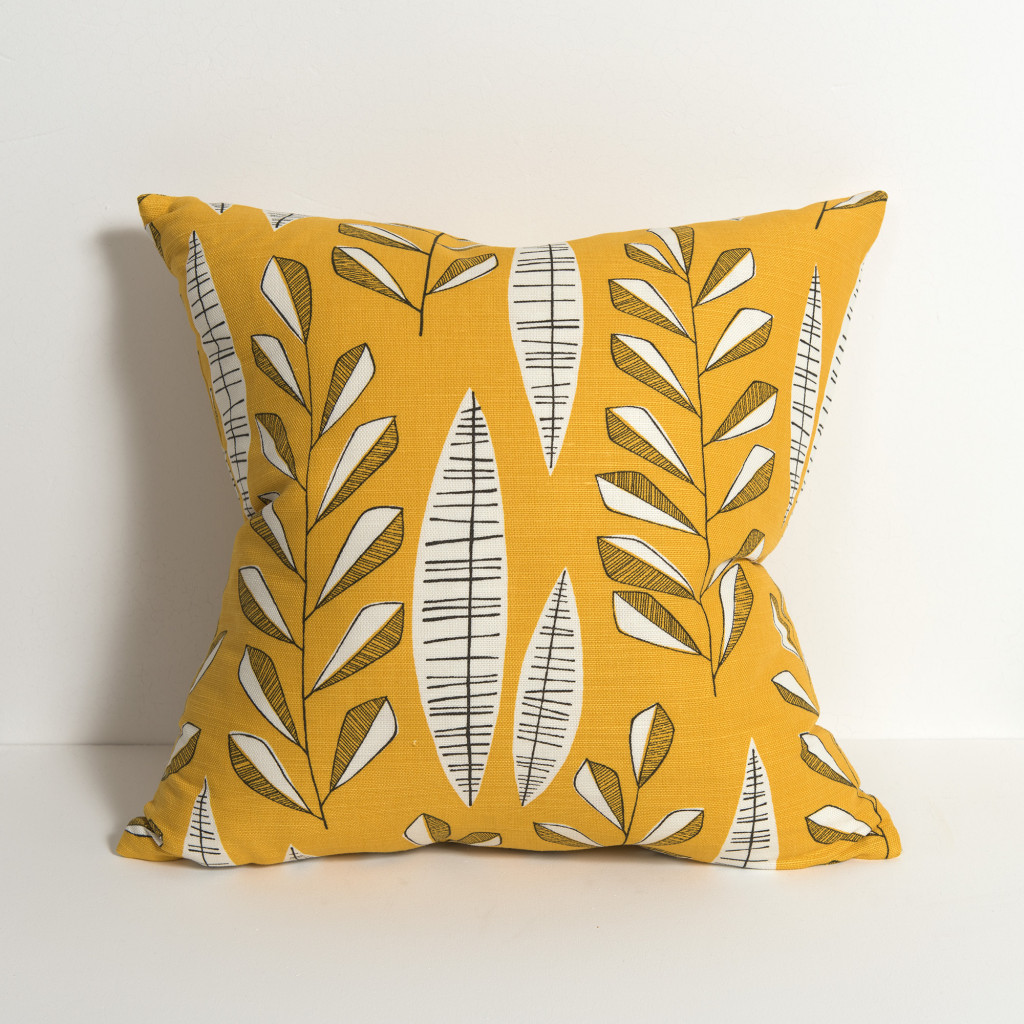 Garden City Sunburst Cushion