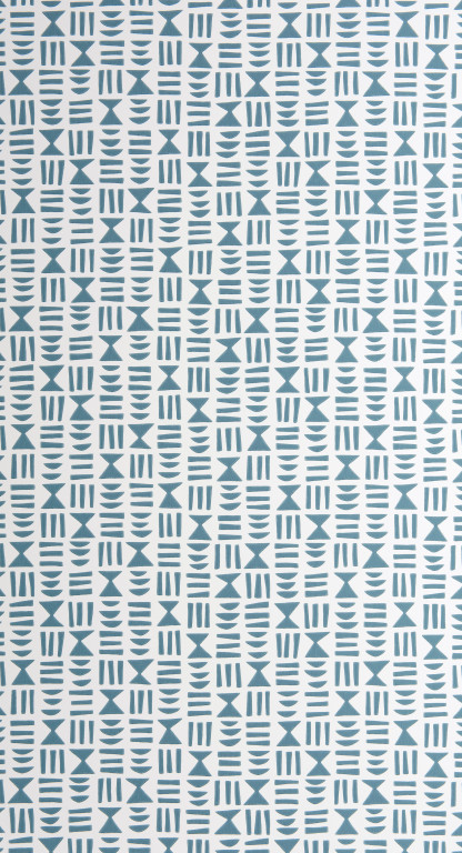Hieroglyph Denim Wallpaper