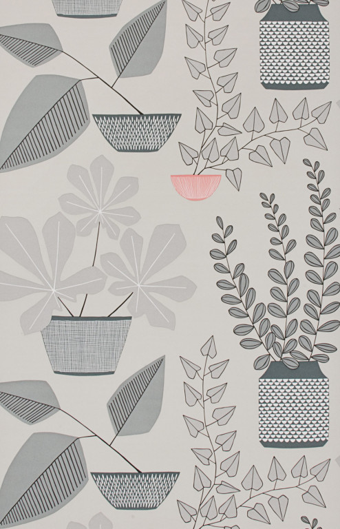 House Plants Pompeii Wallpaper