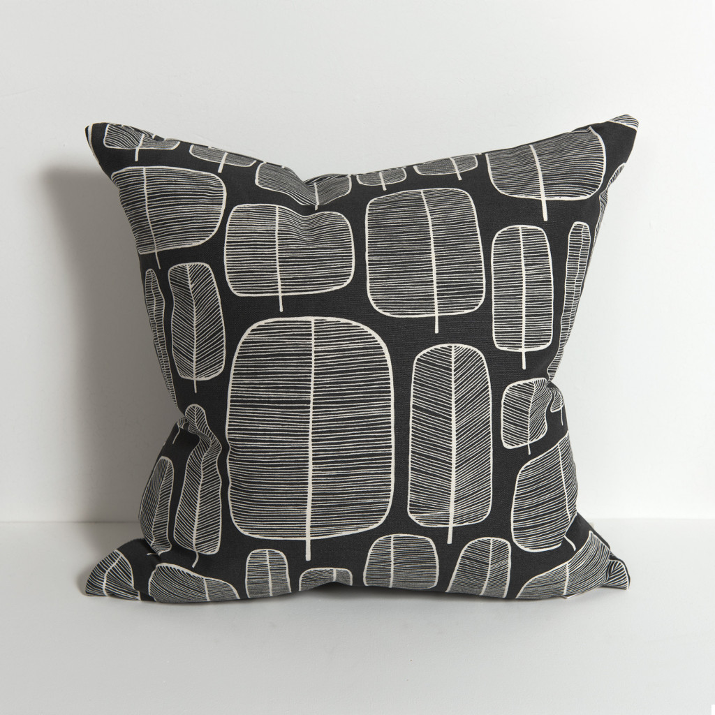 Little Trees Charcoal Cushion