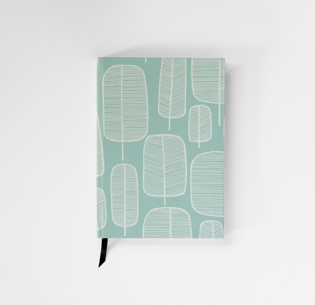 Little Trees Eggshell Blue Notebook