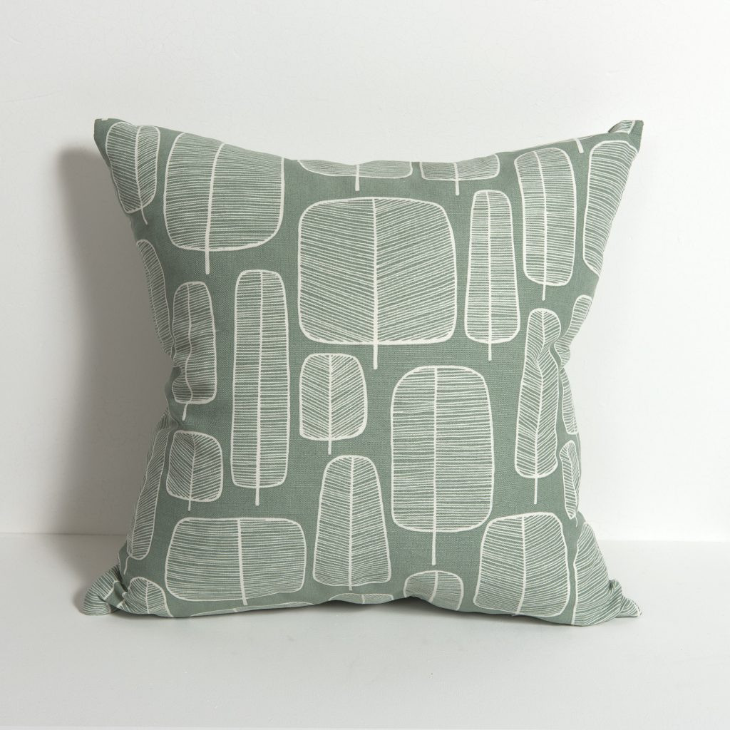 Little Trees English Grey Cushion