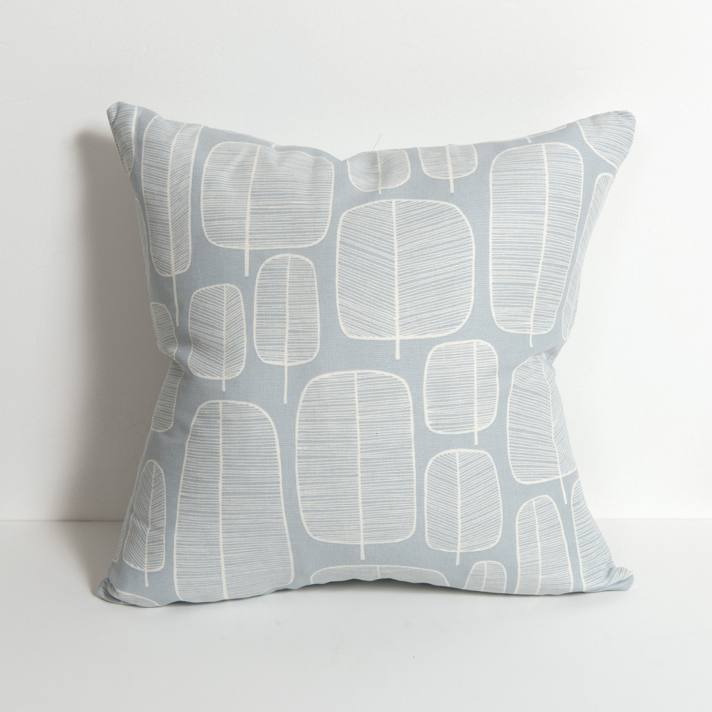 Pillow Cover Gridly LemonFog