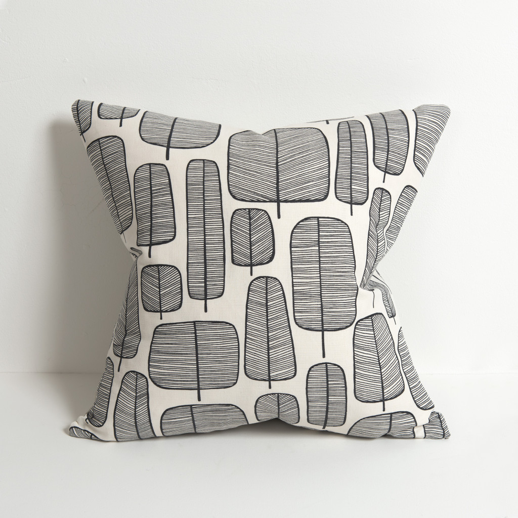 Little Trees Monochrome Cushion