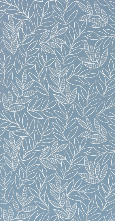 Laurus China Blue Wallpaper