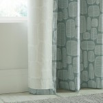 Little Trees Seagrass Curtain lining