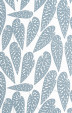 Tropics Boathouse Blue Wallpaper