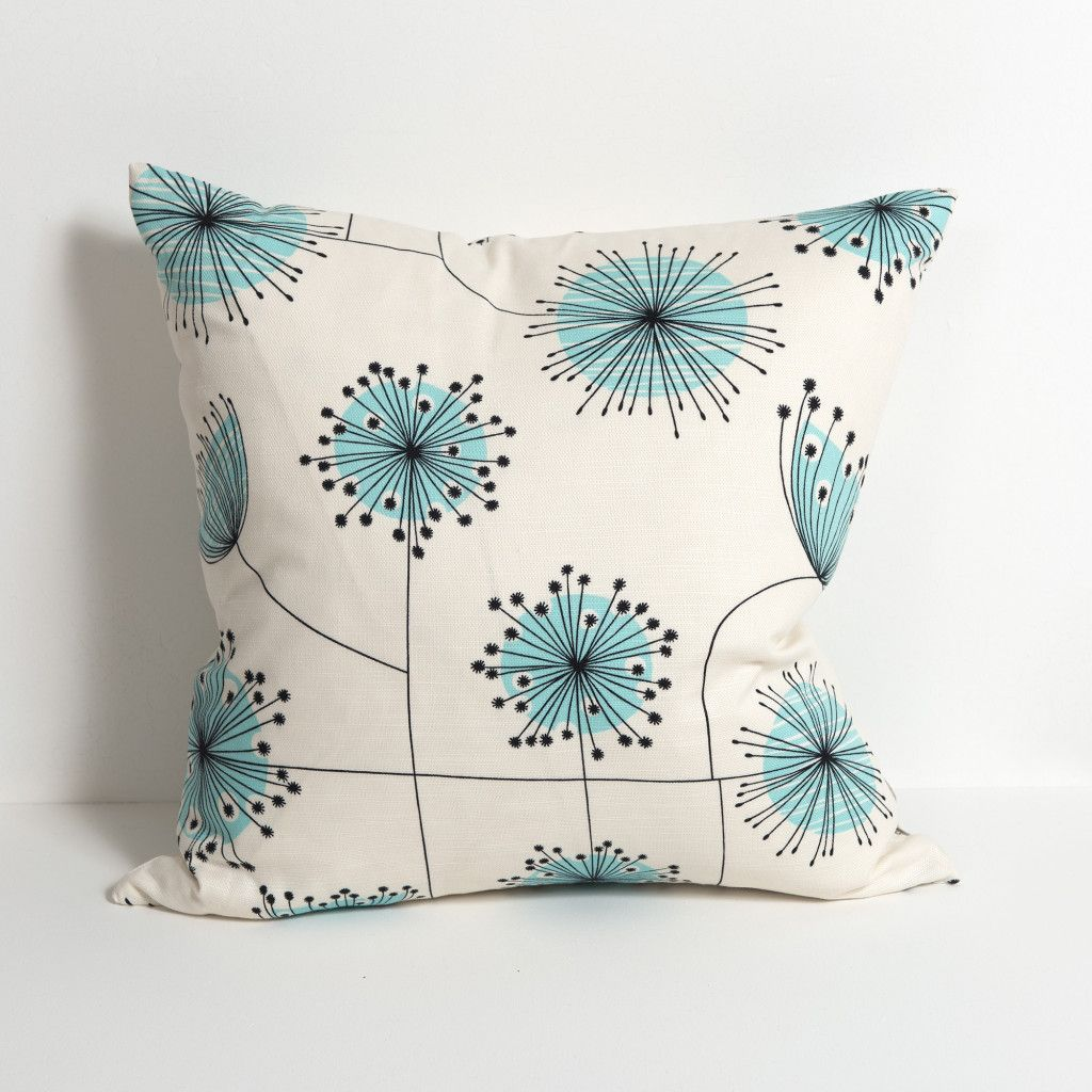 Dandelion Mobile:Porcelain with Powder Blue