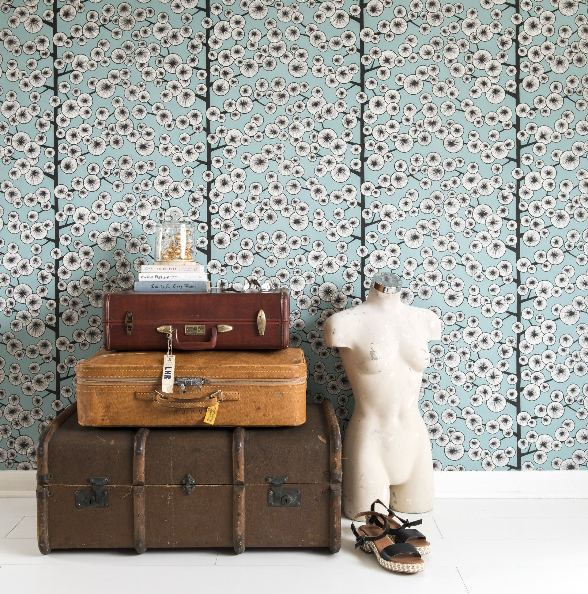 Cotton Tree Wallpaper