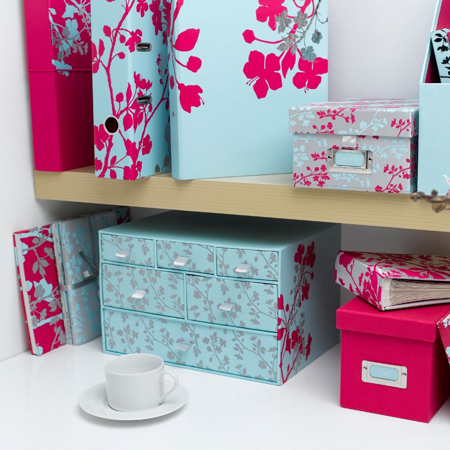 """Blossom"" Stationery range by MissPrint"
